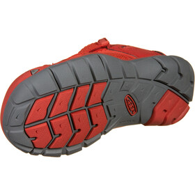 Keen Seacamp II CNX Chaussures Adolescents, fiery red